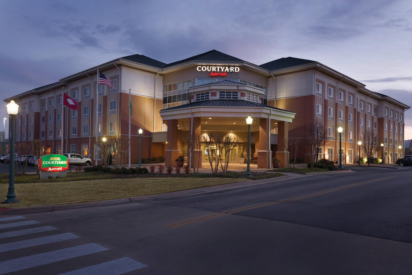 The Courtyard Downtown Fort Smith Offers Safe Travel with Pure Rooms