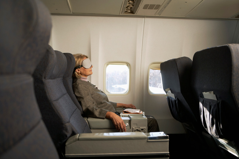 How to Get Better Sleep on an Airplane